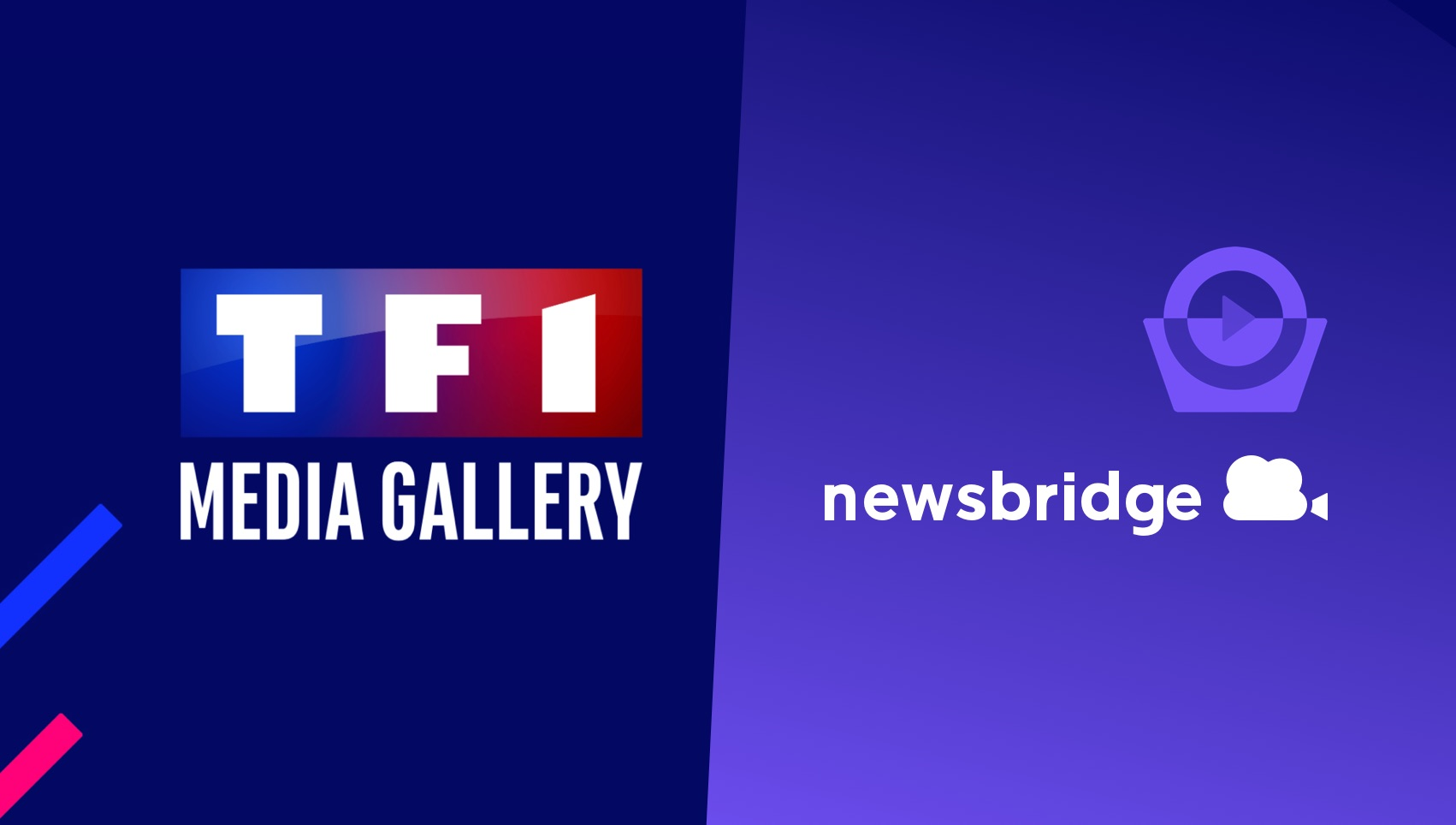Le groupe TF1 s'associe à Newsbridge: TF1 MEDIA GALLERY