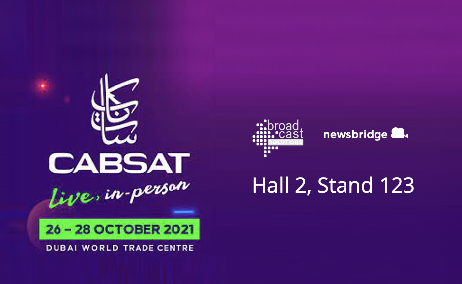 See you at Cabsat 2021!